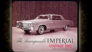1965 Chrysler Imperial Sales Features - Dealer Promo Film