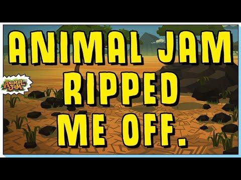 ANIMAL JAM RIPPED ME OFF!  NEW JAZWARES TOY DISASTER.