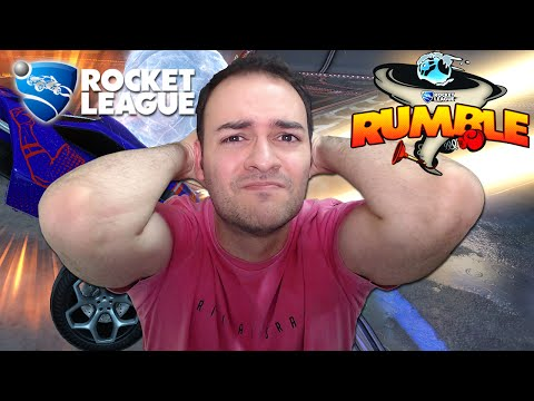 ROCKET LEAGUE RUMBLE - FIM DO CANAL, EXPLICAÇÕES! (Ft Fiaspo e Lipão)