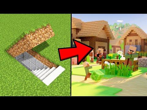 i-made-a-underground-village-in-minecraft