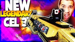 new legendary cel 3 infected gameplay cod aw new legendary weapons aw dlc cel 3 cauterizer