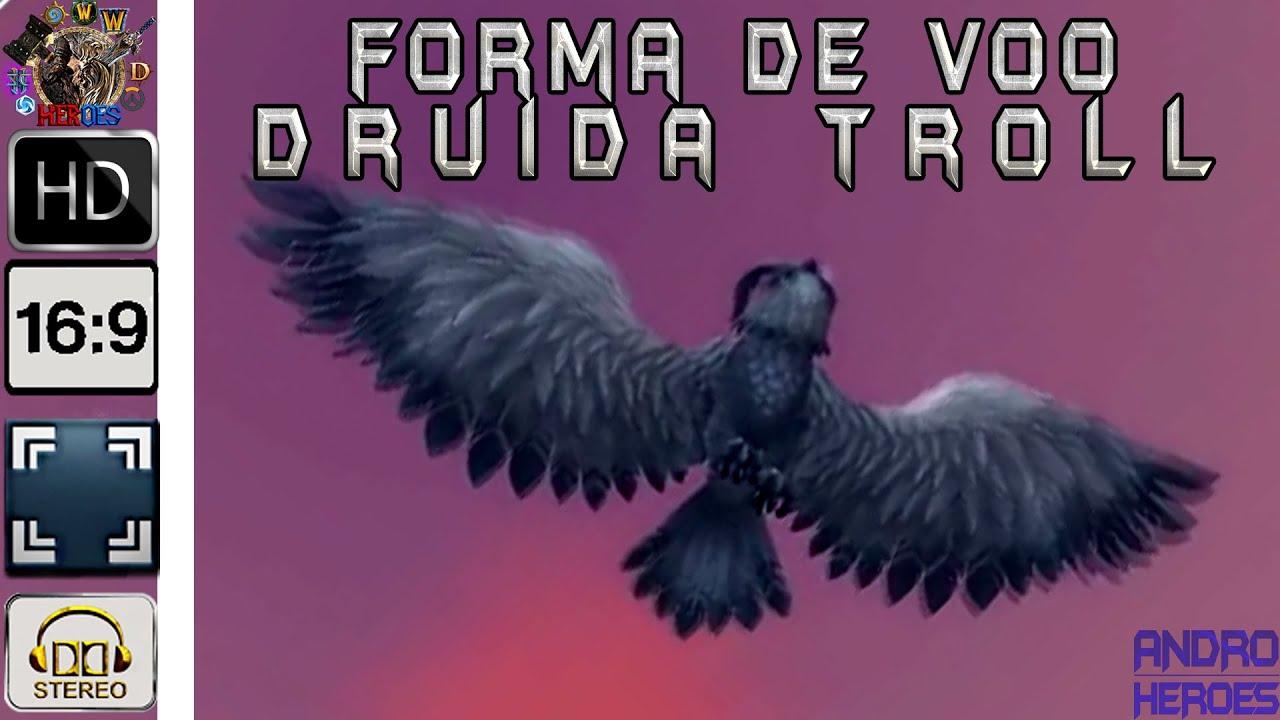 Flight way the Troll druids ᴴᴰ [WoW LEGION] - YouTube