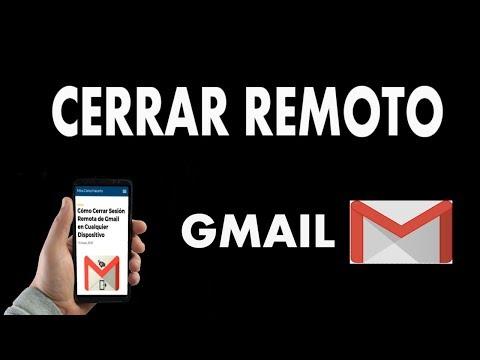¿Cómo Cerrar Sesión Remota de Gmail en Cualquier Dispositivo?