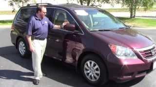 Certified Used 2010 Honda Odyssey EX-L for sale at Honda Cars of Bellevue...an Omaha Honda Dealer!