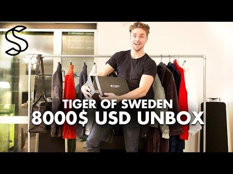 Tiger Of Sweden 8.000 USD Unboxing - Men's Fashion Clothing