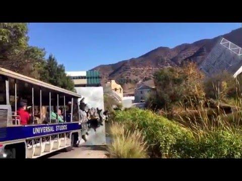 Studio Tour 2016, Universal Studios Hollywood