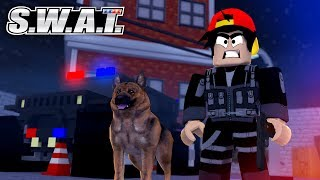 ROBLOX - JOINING S.W.A.T WITH MY DOG (K9 Unit)