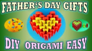 DIY ORIGAMI  HEART GIFT IDEAS FATHER