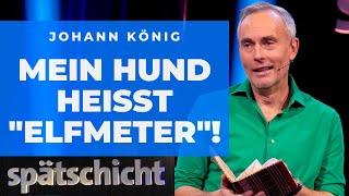 Johann König öffnet sein verrücktes Familientagebuch