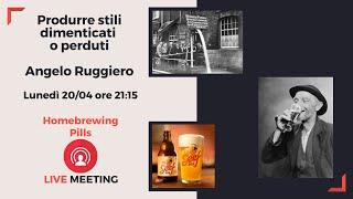 Produrre stili dimenticati o perduti - Angelo Ruggiero YouTube Videos