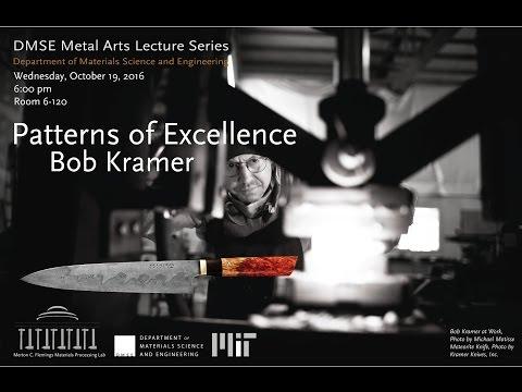 DMSE @ MIT Presents Metal Arts Lecturer Bob Kramer