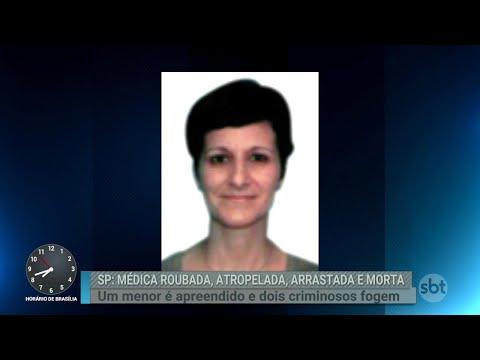 Médica morre após ser arrastada por criminosos em São Paulo   Primeiro Impacto (06/09/18)