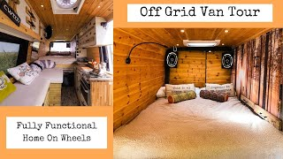 Sprinter Van Conversion - Self Build Camper (Full Tour)