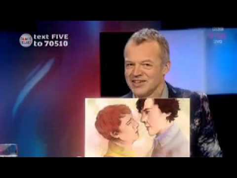 Martin Freeman discusses series 3 of Sherlock and fanart