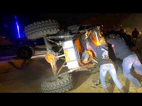 King Of The Hammers 2018 - Rollovers, Carnage & Good Times