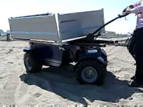 Carrello Da Giardino Usato : Zallys r carrello elettrico ruote motrici per spiaggia youtube