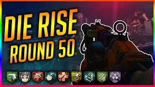 """DIE RISE"" ROUND 50 CHALLENGE! ~ (Black Ops 2 Zombies Gameplay)"