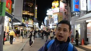 NIGHT LIFE IN SHIBUYA JAPAN