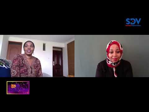 Making stylish face masks in the face of Coronavirus  Life In Isolation with Najma Ismael