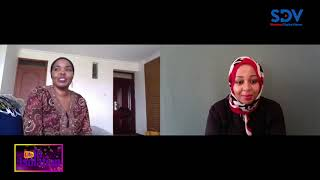 Making stylish face masks in the face of Coronavirus| Life In Isolation with Najma Ismael