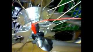 Dynamo hub output voltage demonstration