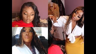 VLOG | The Experience Of Being A Traveling Makeup Artist | Prom Client, Accident In My Lyft! Video