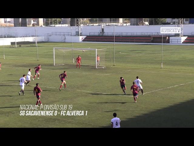 Sub19 Sacavenense 0 FC Alverca 1 - Highlights