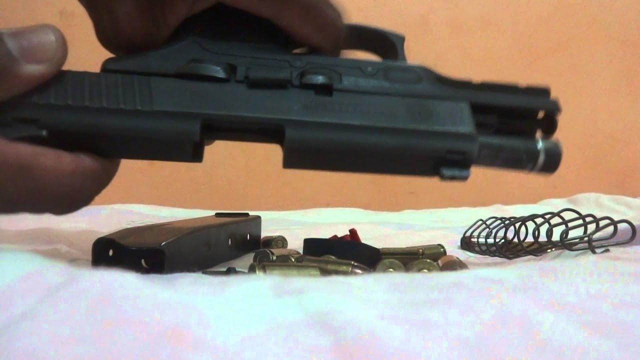 Pistola taurus pt 24 7 40 15 tiros 1 youtube - Pistola para lacar ...