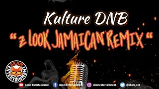 Kulture DNB - Z Look Jamaican Dancehall (Remix) [Audio Visualizer]