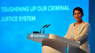 Watch again: Priti Patel's Conservative Party Conference speech