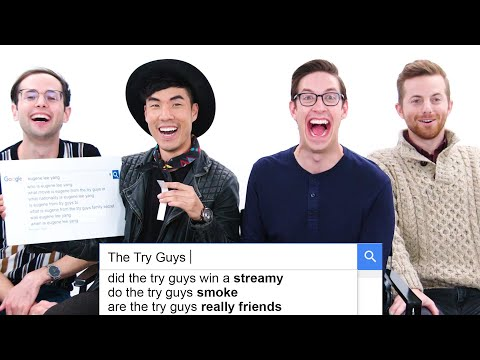 The Try Guys Answer the Webs Most Searched Questions | WIRED