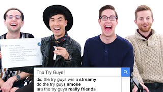The Try Guys Answer The Webs Most Searched Questions Wired