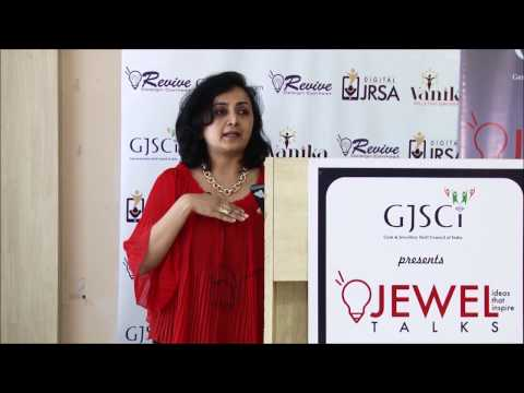 Ms. Shefali Patel Inspiring the Aspiring Designers at Jewel Talks