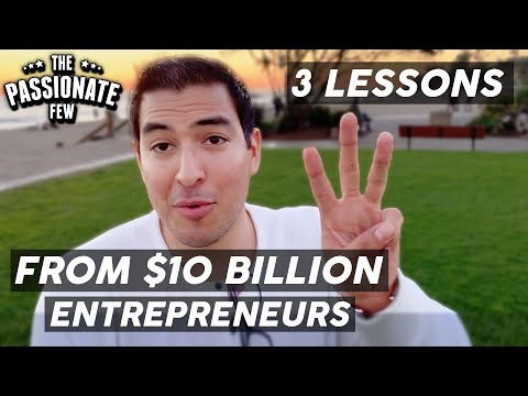 Top 3 Lessons I Learned Interviewing $10 Billion Worth Of Entrepreneurs!