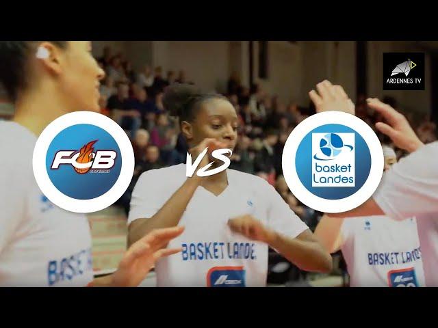 Flammes Carolo Basket / Basket Landes - Match d'EuroCup