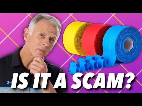 Kinesio Tape: Is it a SCAM? Does it work? Is is it HYPE? Is it a FAD?