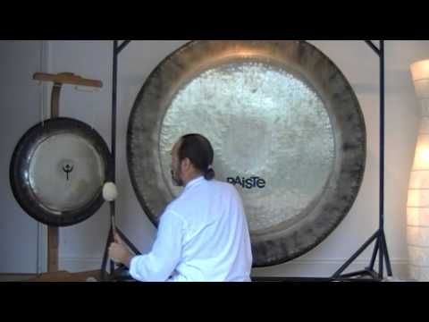 "Gong Bath 60"" Symphonic and Neptune Planet Gong The Element Of Water"