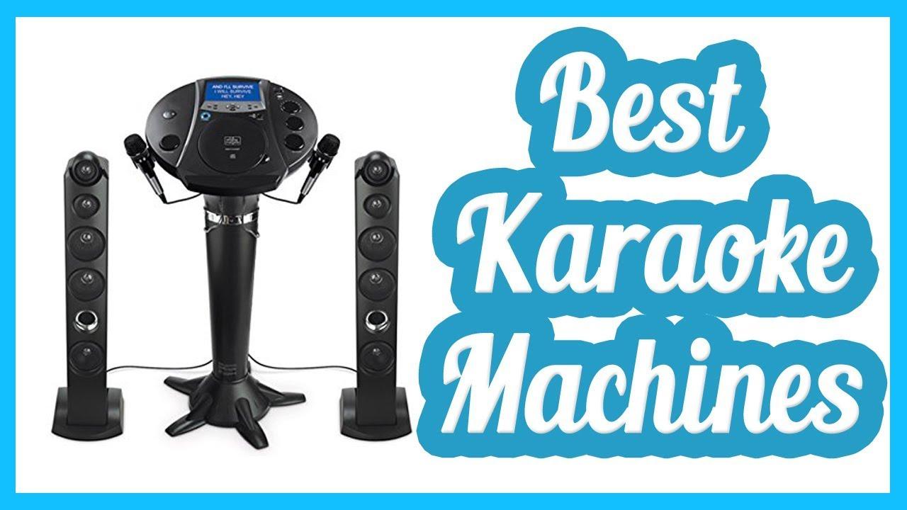 best karaoke machines 2017 karaoke machines youtube. Black Bedroom Furniture Sets. Home Design Ideas