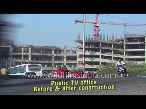Bangalore's Public TV office before and after construction