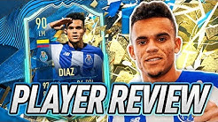 WHO ELSE EXPECTED 3⭐3⭐? 😅 90 TOTSSF DIAZ PLAYER REVIEW! - FIFA 20 Ultimate Team
