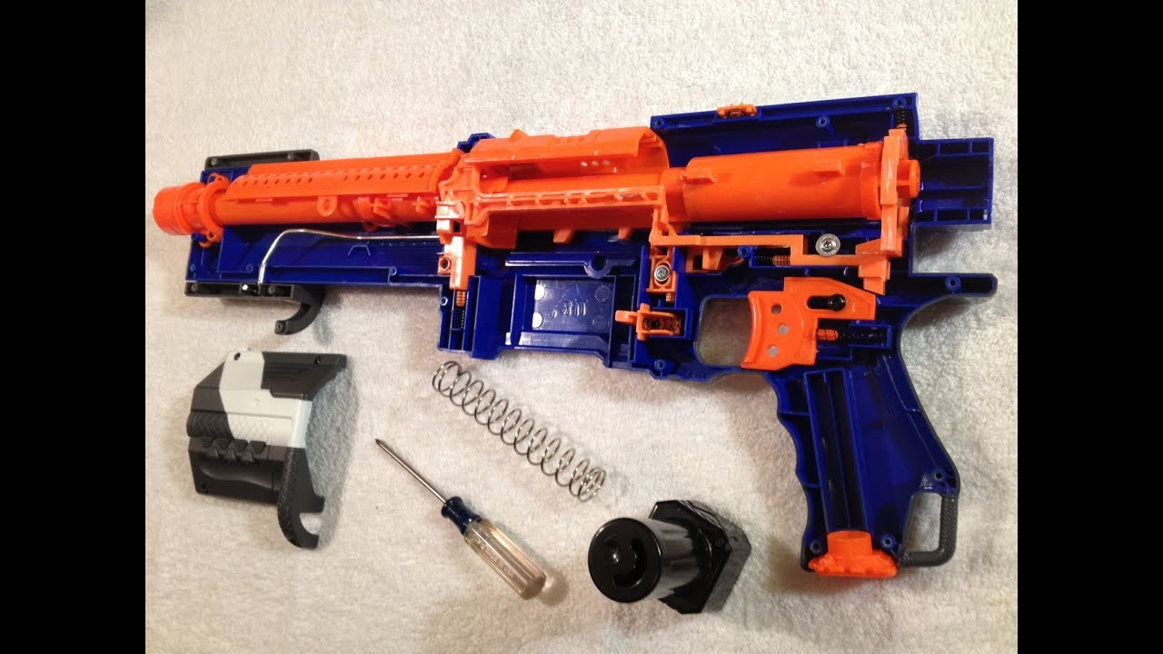 MOD GUIDE Elite Alpha Trooper 100ft w spring replcement AR removal and more
