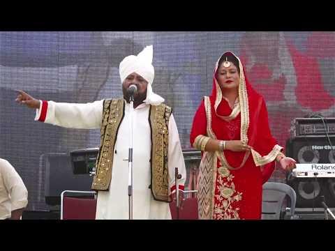 MOHD. SADIQ & SUKHJIT KAUR | LIVE PERFORMANCE AT DUSSEHRA MELA DORAHA 2017