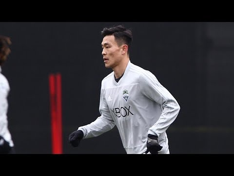 Kim Kee-hee trains with Sounders FC for first time