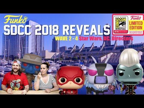 SDCC 2018 Funko Exclusives | Star Wars | DC | Directors