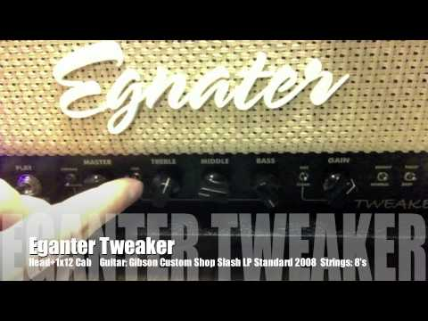 Egnater Tweaker Demo Head 1x12 Cab Youtube