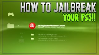 """How to: """"Jailbreak Ps3"""" - """"How to Jailbreak your PS3"""" *EASY*"""