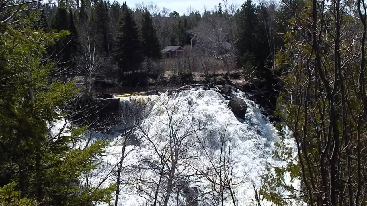 Michigan keweenaw county allouez - Eagle River Falls Dam Eagle River Mi Keweenaw County