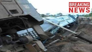 Ranikhet Express 10 coaches derail - express 15013
