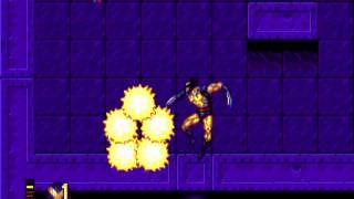 [Sega Genesis] - X-Men 2: Clone Wars - Level 16 - Tower Floor 2 (Wolverine)