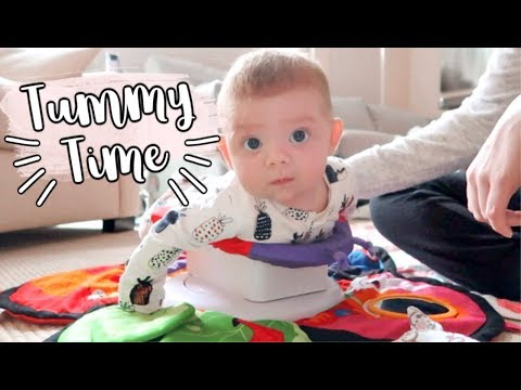 BEST TUMMY TIME TOY! | LIFE OF MADDY